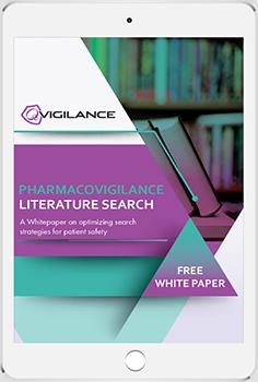 QVigilance - Pharmacovigilance Literature Search_ipad 350
