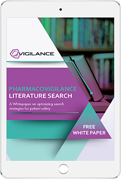 QVigilance - Pharmacovigilance Literature Search_ipad 350
